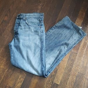 """7 For All Mankind """"A"""" Pkt Relaxed Distressed Jeans"""